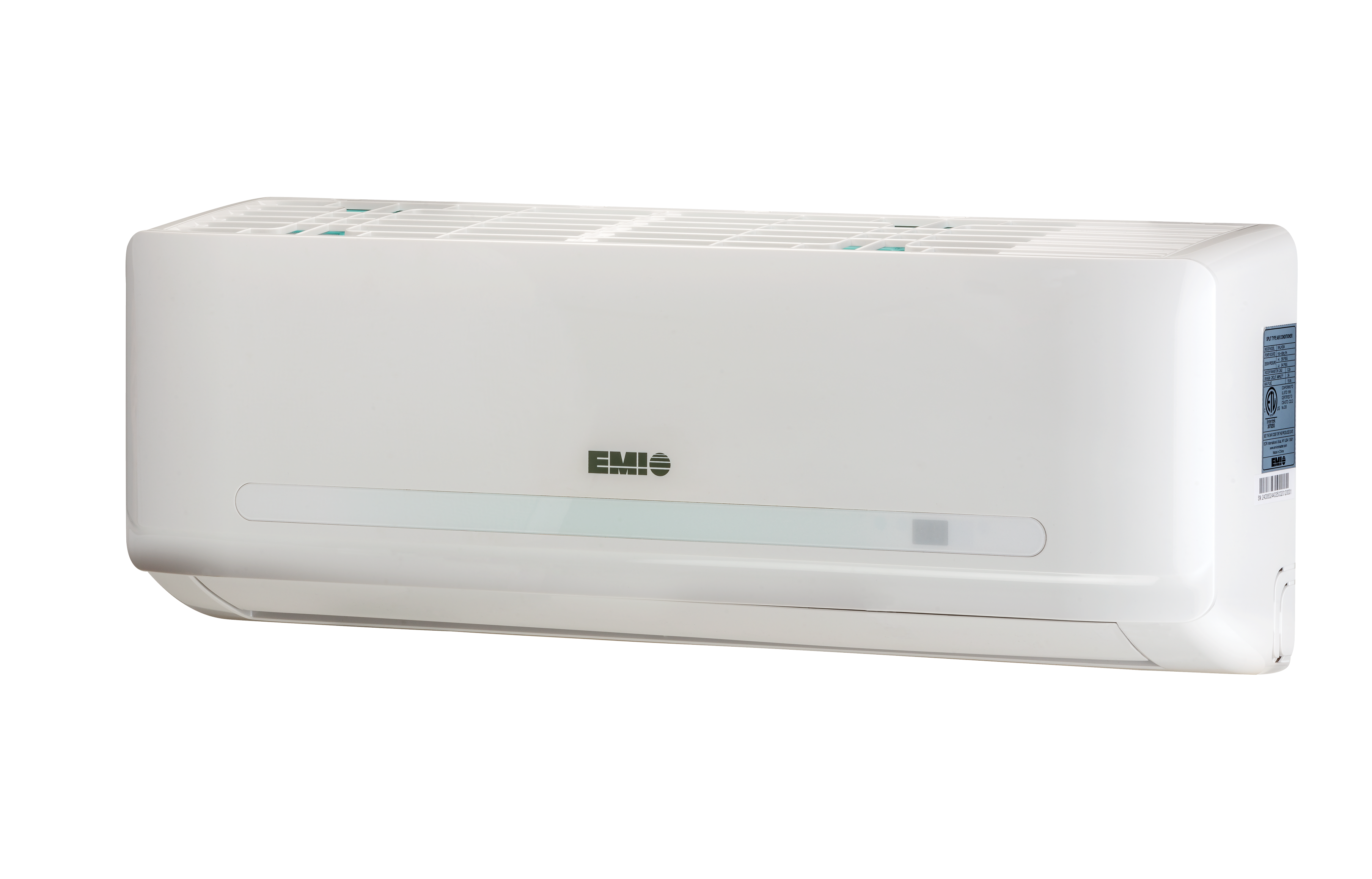 how do ductless air conditioners stack up against traditional emi air handler three qrt view